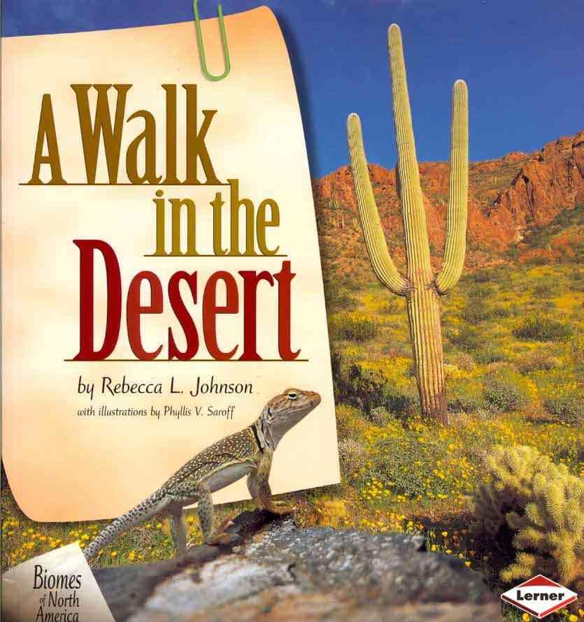A Walk in the Desert By Johnson, Rebecca L./ Saroff, Phyllis V. (ILT)